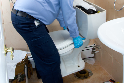 toilet repair and installation in Compton